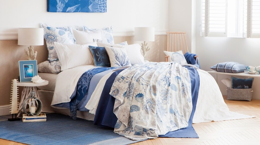 Summer inspired homes ftg magazine fashion beauty for Zara home bedroom ideas