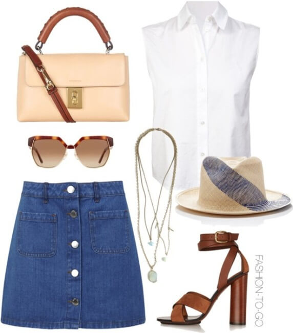 retro chic outfit idea by fashiontogo cover