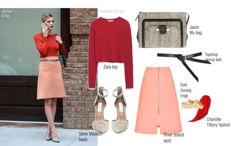 Get the look Jaime King by Fashion to go
