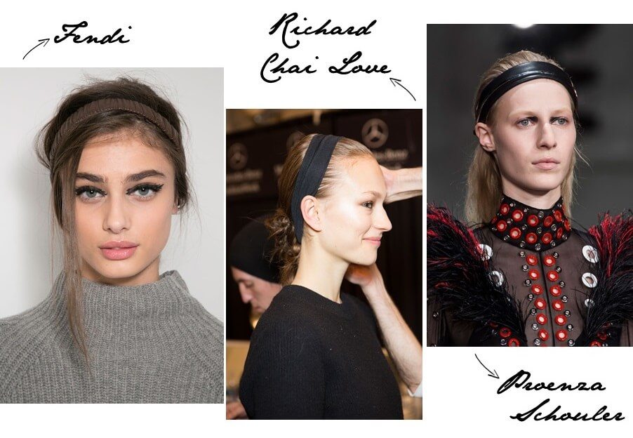 Fall 2015 headband trends from runway at http://www.fashiontogo-ftg.com/hair-accessory-must-have-headband/