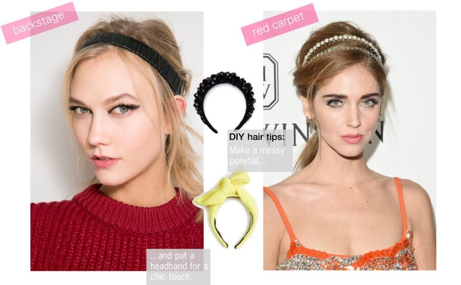 From backstage to red carper - headband trend 2015 by http://www.fashiontogo-ftg.com/hair-accessory-must-have-headband/