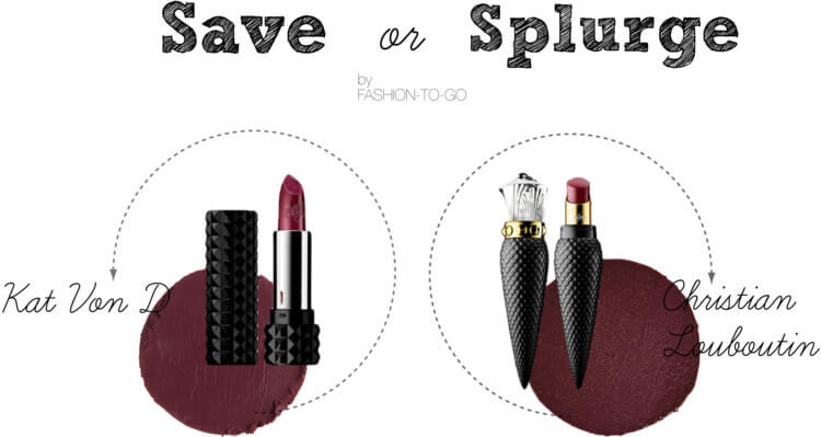 Save or splurge: dark lipstick at http://www.fashiontogo-ftg.com/save-or-splurge-dark-red-lipstick/