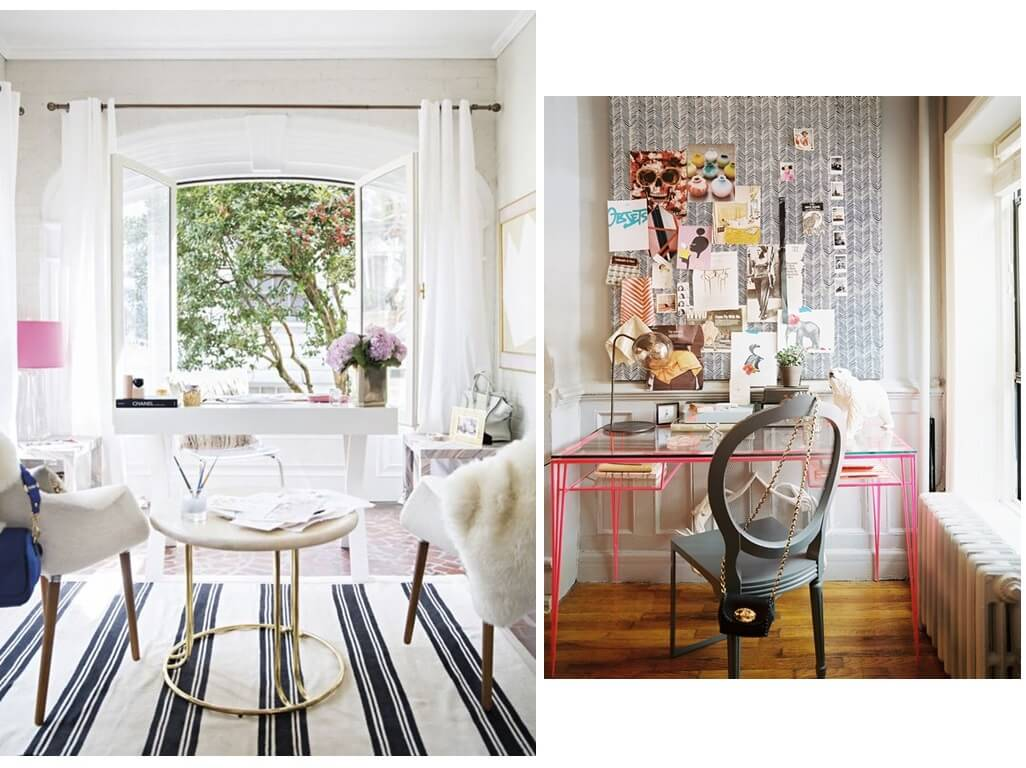 Home Office: 7 Fashionable Interiors
