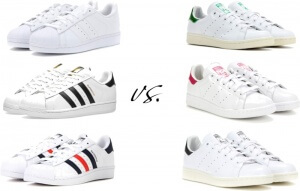Adidas Stan Smith Vs Superstars