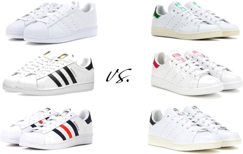 The shoes Adidas sneakers superstar vs stan smith by FTG: http://www.fashiontogo-ftg.com/adidas-sneakers-superstar-vs-stan-smith/