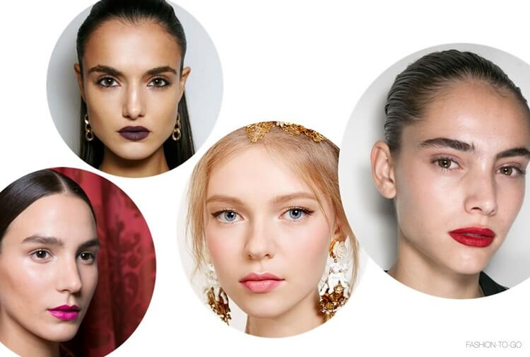 Lip color spring 2016 beauty trends by FTG: http://www.fashiontogo-ftg.com/which-lip-colors-we-will-wear-this-season/