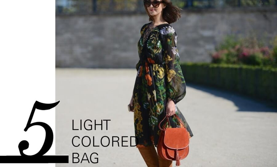 Summer must haves - a light colored bag by FTG: http://www.fashiontogo-ftg.com/top-5-summer-must-haves/