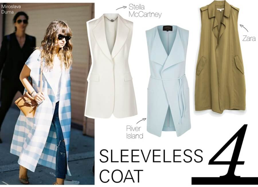 Summer must haves - sleeveless coat by FTG: http://www.fashiontogo-ftg.com/top-5-summer-must-haves/