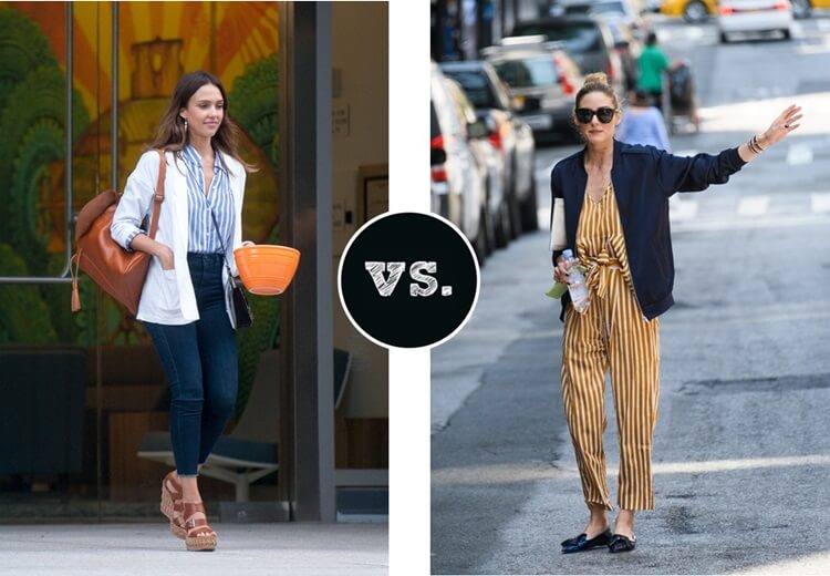 Who wore it better - Stipes by FTG: http://www.fashiontogo-ftg.com/who-wore-it-better-stipes-mixed-with-tan-navy/