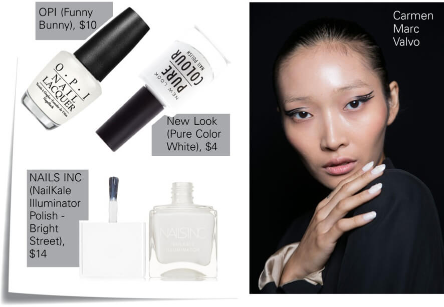 White nails color trend for summer by FTG