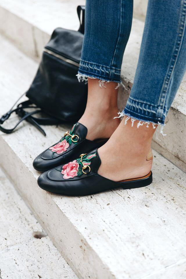 Embroidery shoes are so trendy right now! Check out top 15 shoes on FTG