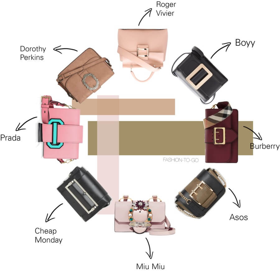 The buckle bag by FashionToGo
