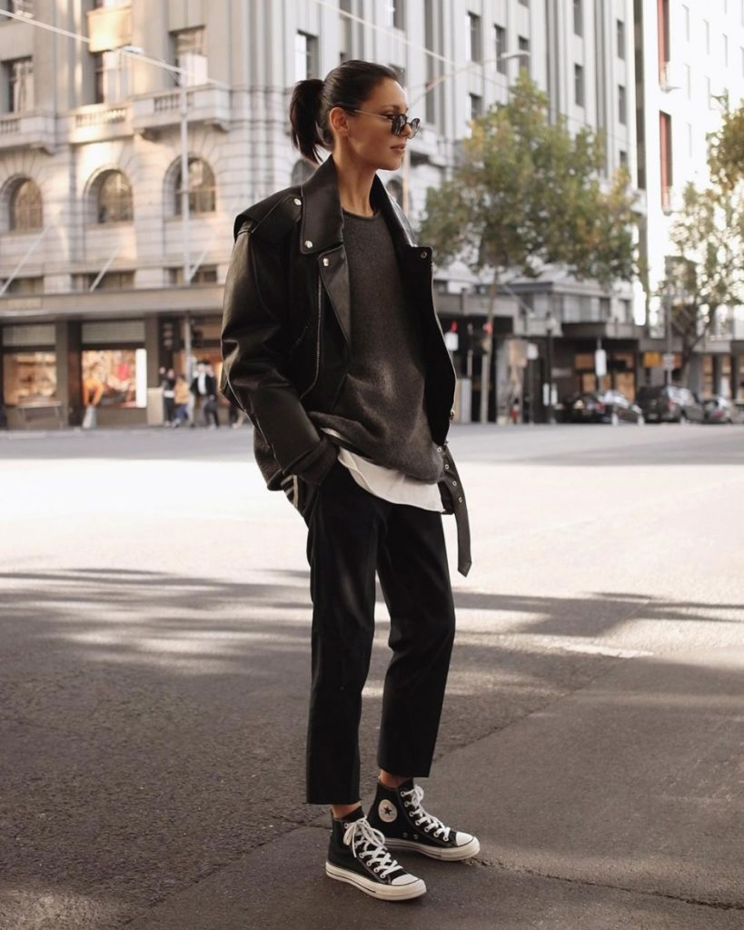 how to wears converse all star outfits