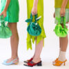 How did knotted handbag become the most sought-after bag this season